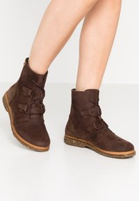 El Naturalista - ANGKOR - Lace-up ankle boots - pleasant brown - 0