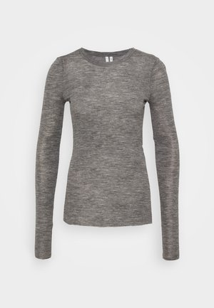 ODDRUN LONGSLEEVE - Long sleeved top - grey medium