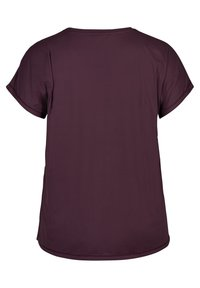 Active by Zizzi - T-shirt print - purple - 4