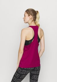 adidas Performance - TECH BOS TANK - Funktionsshirt - berry - 2