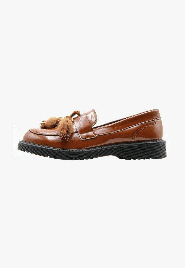 Scarpe senza lacci - cuero