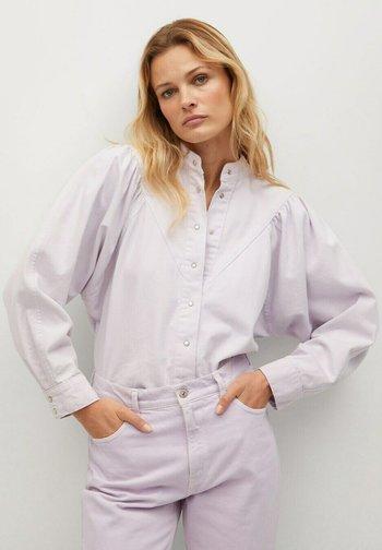 LOLA - Button-down blouse - lilas