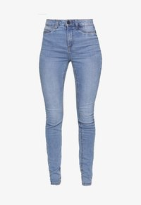 NMCALLIE  - Jeans Skinny Fit - light blue denim