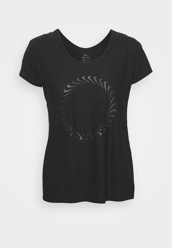 ICON CLASH MILER  - T-shirts med print - black
