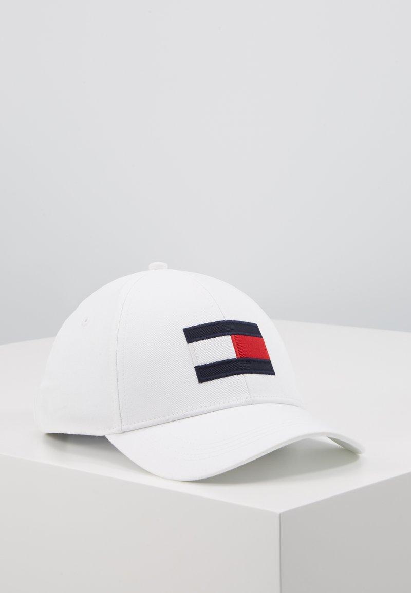 Tommy Hilfiger - BIG FLAG - Cappellino - white