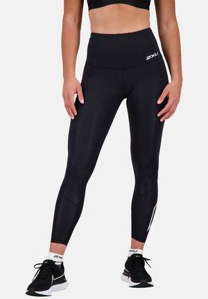 KOMPRESSIONS - Leggings - black silver x logo