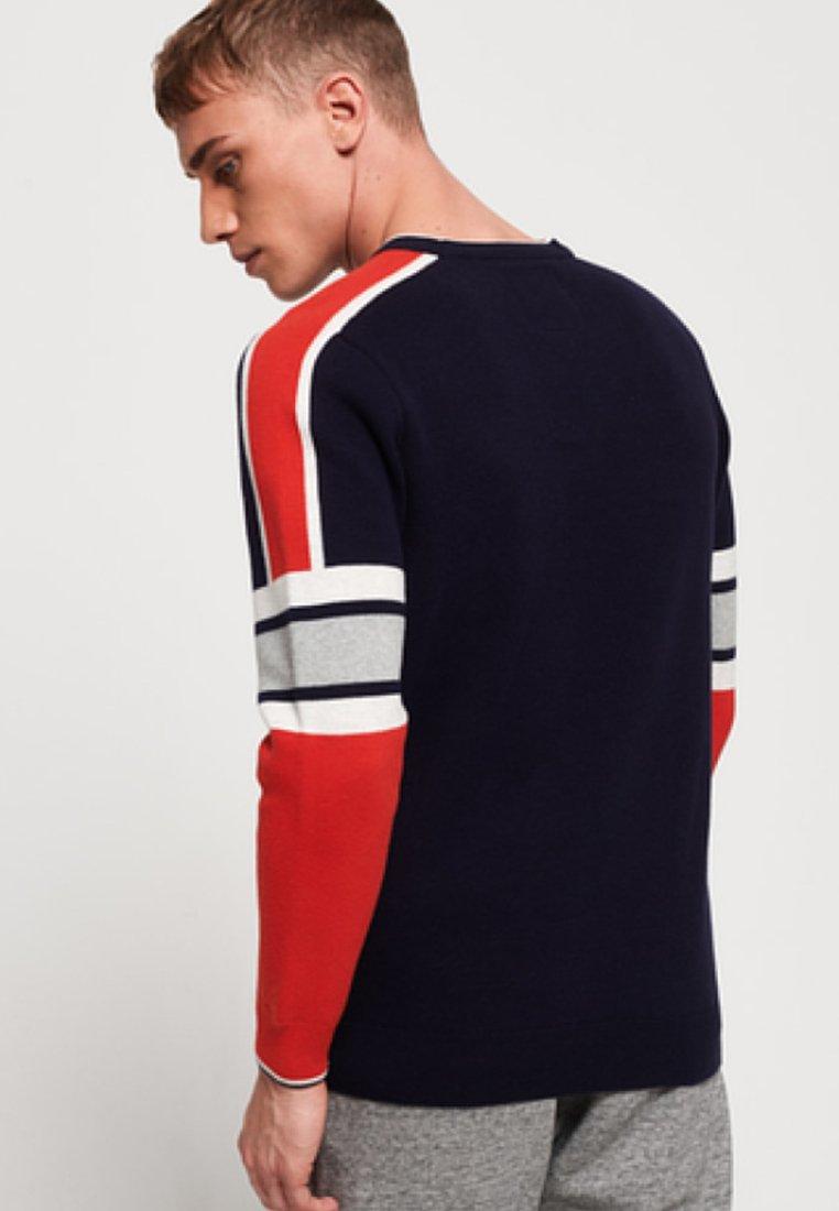 Superdry Pullover - dark blue