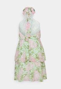 Gina Tricot - EXCLUSIVE MALVA HALTERNECK DRESS - Koktejlové šaty/ šaty na párty - pink - 6