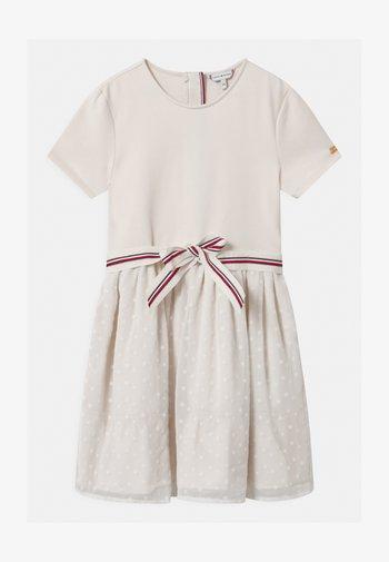COMBI - Vestito di maglina - off-white