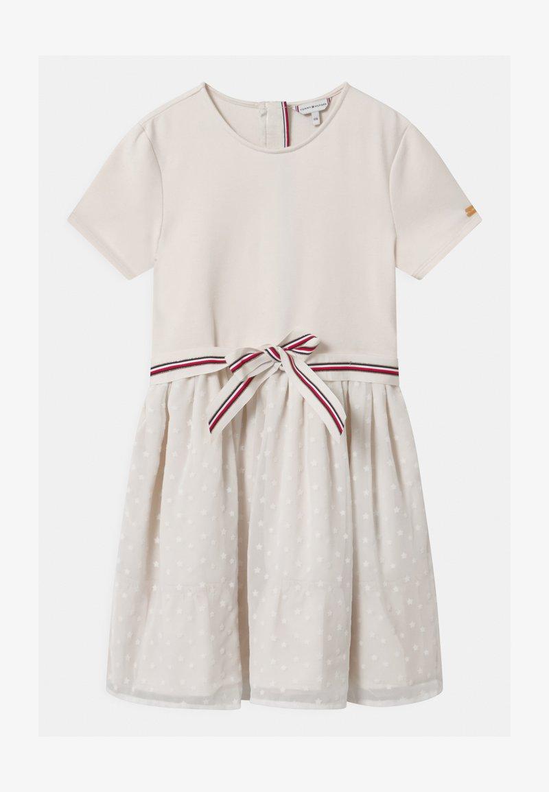 Tommy Hilfiger - COMBI - Vestito di maglina - off-white