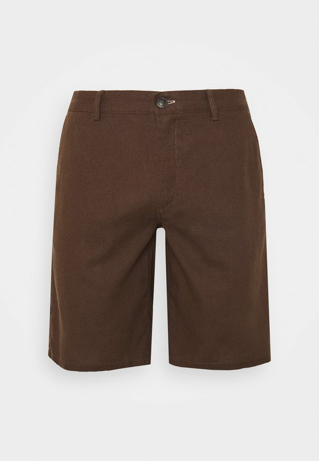 BERM BASICA - Shorts - dark brown