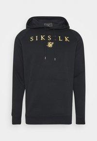 SIKSILK - PRESTIGE - Jersey con capucha - black/gold - 3