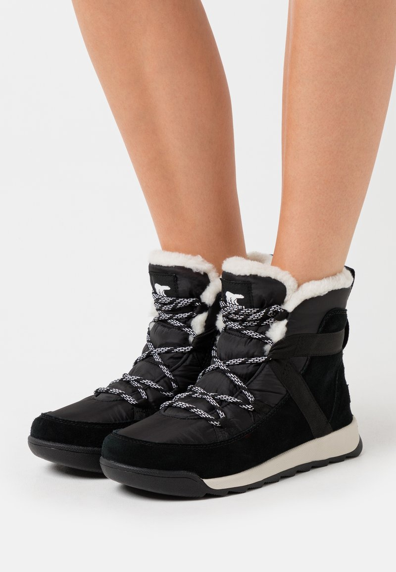 Sorel - WHITNEY II FLURRY - Vinterstøvler - black