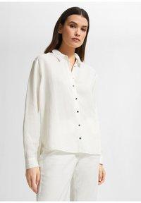 comma - Button-down blouse - white - 0