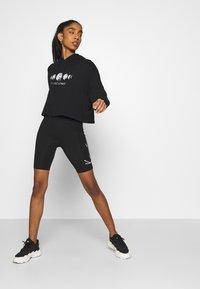 Even&Odd - Printed Oversized Sweatshirt - Sudadera - black - 4