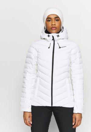 FROST JACKET - Chaqueta de esquí - white