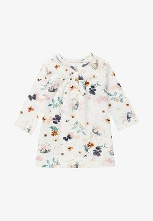 JURK MALARTIC - Jersey dress - snow white
