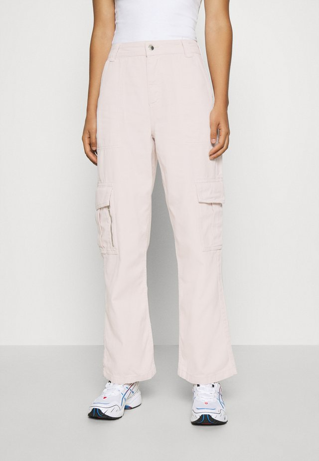 FRANK - Trousers - pink
