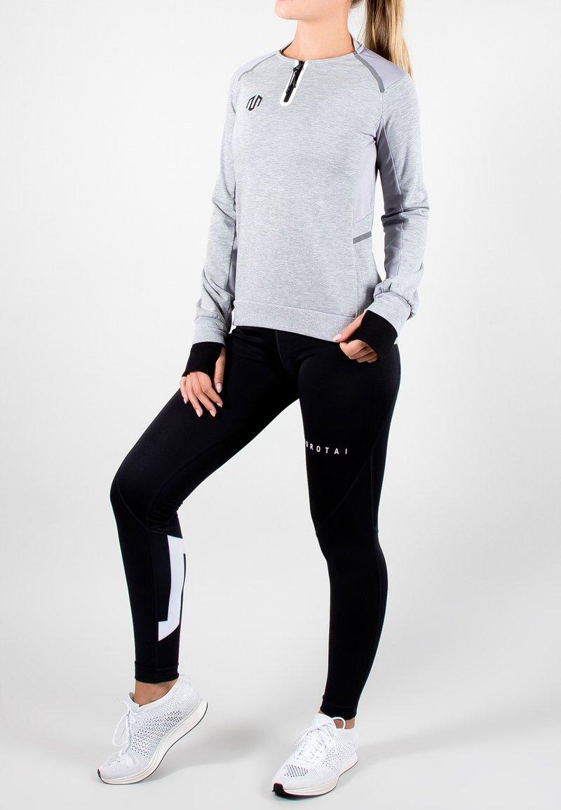 MOROTAI - T-shirt sportiva - light grey