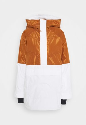 LAROSA ANORAK - Snowboard jacket - white