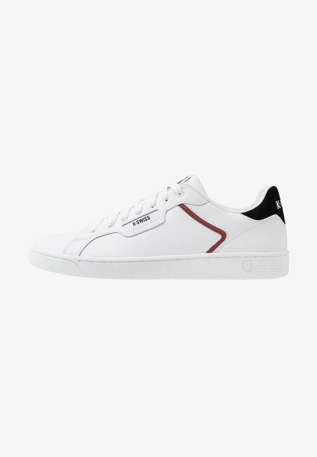 CLEAN COURT - Zapatillas - white/black