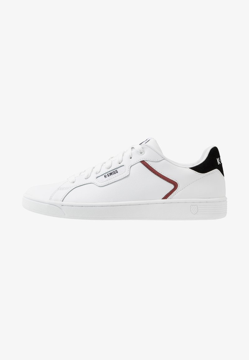 K-SWISS - CLEAN COURT - Trainers - white/black