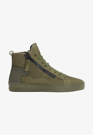 LEONID  - High-top trainers - green