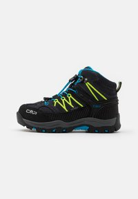 CMP - KIDS RIGEL MID SHOE WP UNISEX - Trekingové boty - antracite/yellow fluo - 0