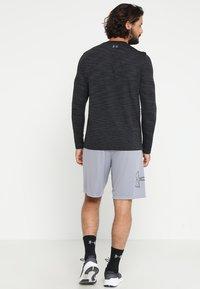 Under Armour - TECH GRAPHIC SHORT - Sports shorts - steel/black - 2