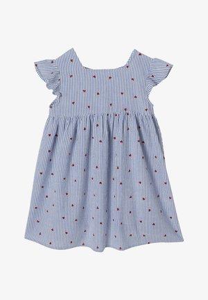 Day dress - blau gestreift