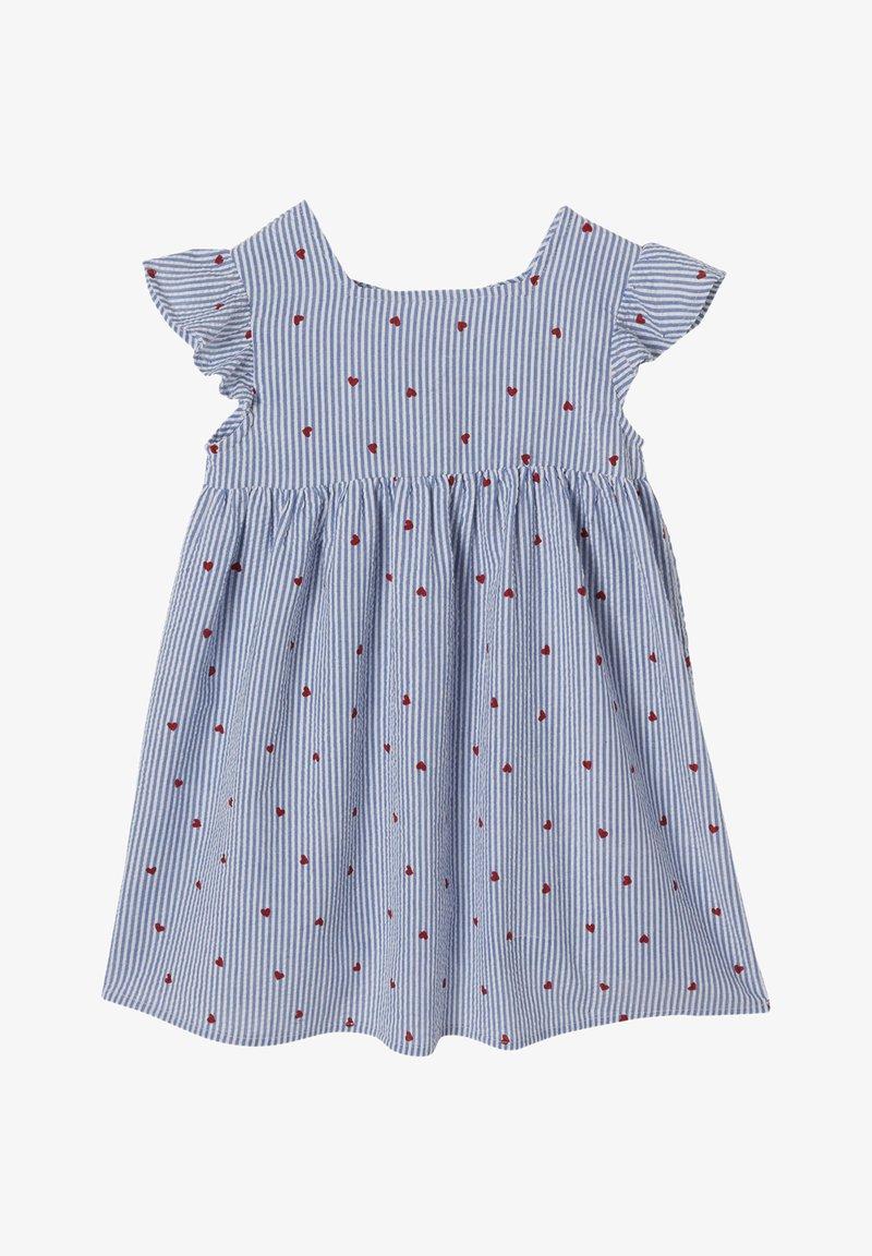 Vertbaudet - Day dress - blau gestreift