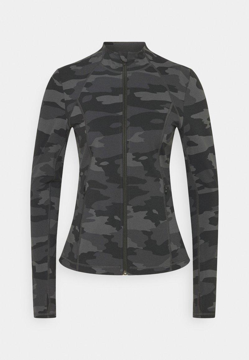 Sweaty Betty - POWER WORKOUT ZIP THROUGH JACKET - Training jacket - black tonal