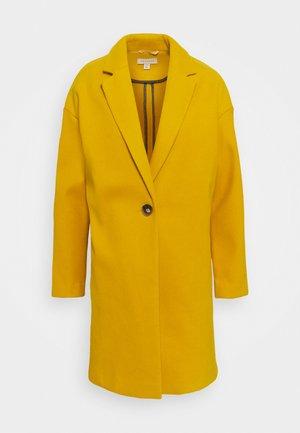 Zimní kabát - mustard