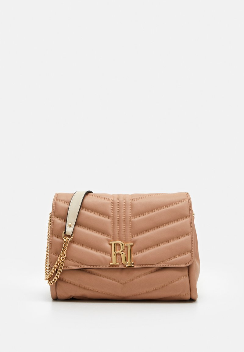 River Island - MEDIUM SOFT UNDERARM - Across body bag - light beige