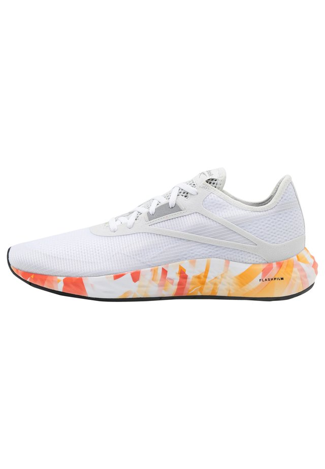 FLASHFILM 3.0 - Obuwie do biegania treningowe - true grey/instinct red/high vis orange