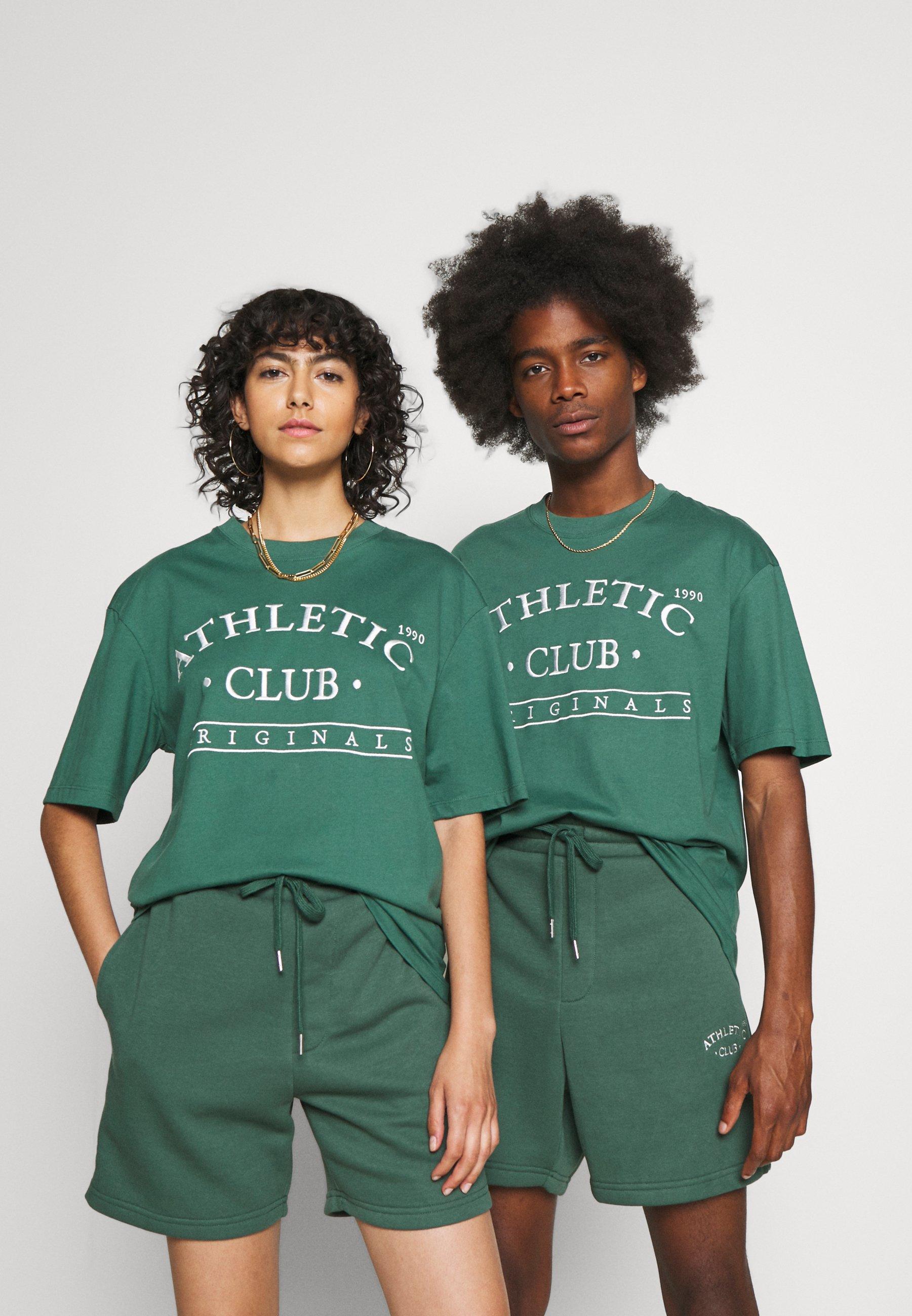 Women JORTOBIAS TEE CREW NECK FRONT BIG UNISEX  - Print T-shirt