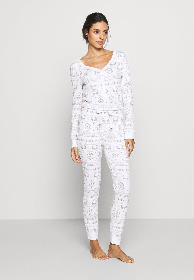 Anna Field - Pyjamas - white