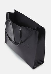 Ted Baker - AEVACON CRINKLE PATENT EMBOSSED XHATCH ICON - Tote bag - black - 2