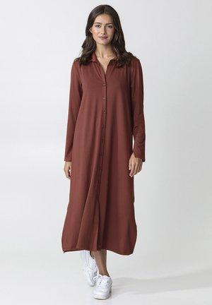 SANDER - Shirt dress - brown