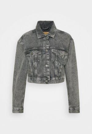 TIZANIE - Denim jacket - bleached grey