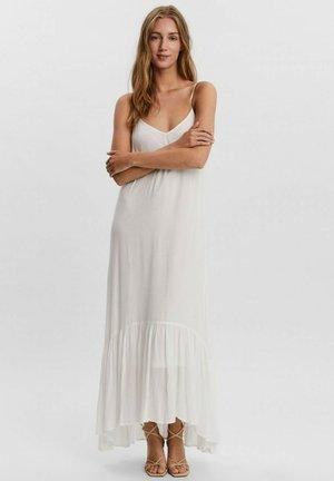 Vestido largo - blanc