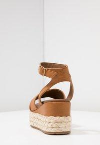 Anna Field - Platform sandals - cognac - 5