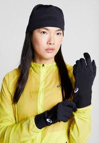 ASICS - RUNNING PACK SET UNISEX - Gloves - performance black - 3