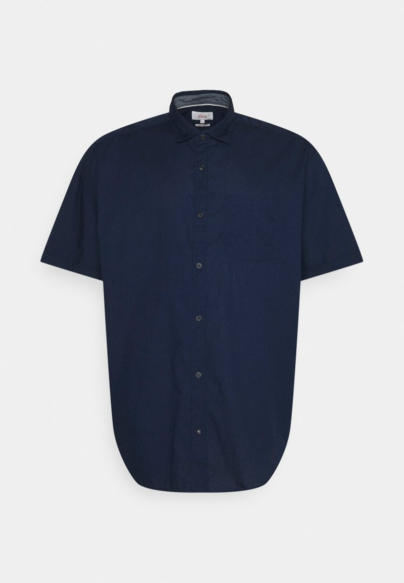 s.Oliver - KURZARM - Shirt - dark blue
