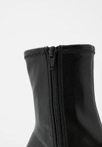 Monki - VEGAN LEIA BOOT - Bottines - black - 2