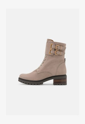 PERRY - Lace-up ankle boots - taupe