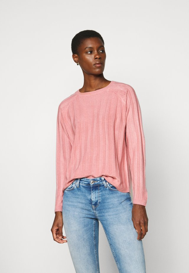 ONLPEPS - Strickpullover - dusty rose