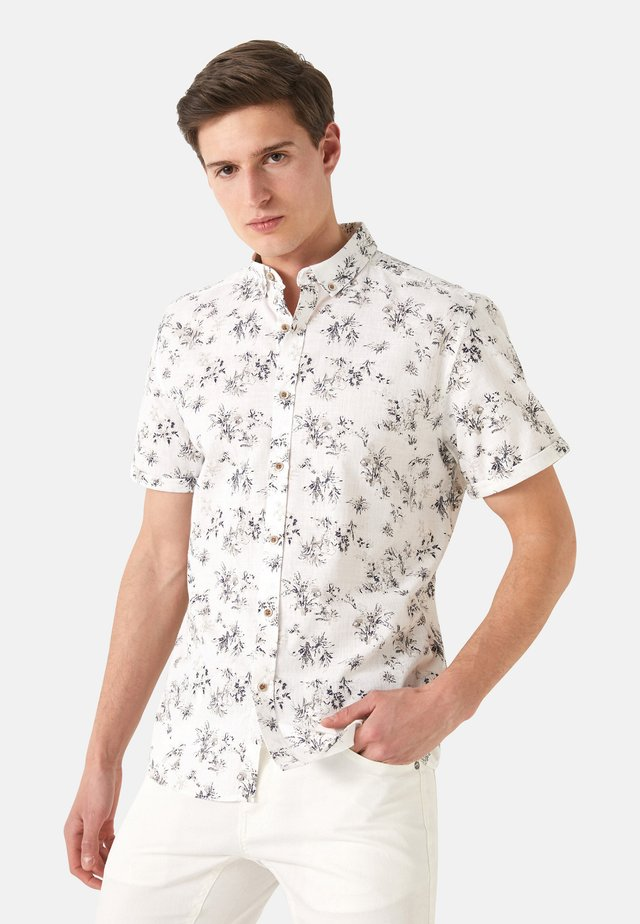 SLIM FIT - Shirt - beige