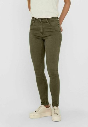 ONLPAOLA LIFE - Jeans Skinny Fit - ivy green