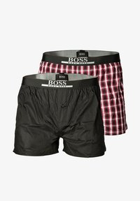 BOSS - 2PACK - Boxer shorts - dunkelrot - 0